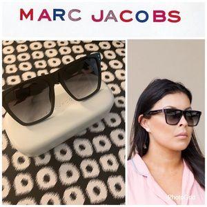 Marc Jacobs Gradient Flat top Sunglasses